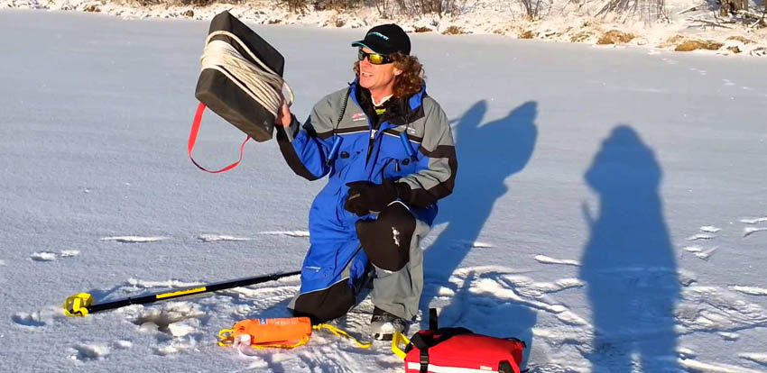 Staying Safe When Ice Fishing